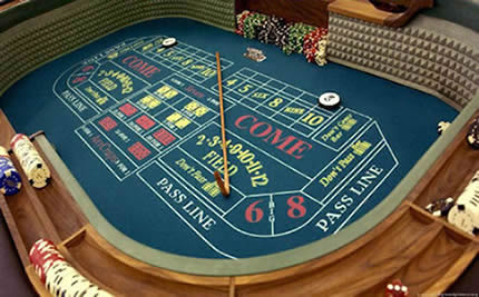 Craps is not the easiest game to learn