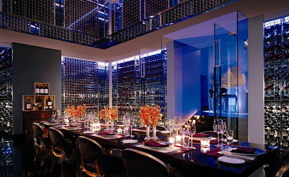 The ABA private dining room