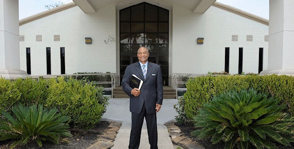 Foreman became an ordained Minister after his first retirement in 1977