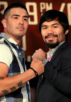 Brandon Rios and Manny Pacquiao will fight in Macau in November