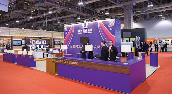 Junket operator Macau Golden Group had a large presence at the show