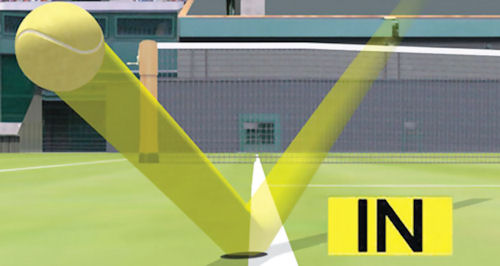 Tennis has successfully employed hawk-eye technology for a number of years now
