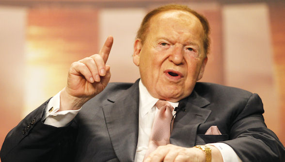 Chairman and CEO of Las Vegas Sands Corp, Sheldon Adelson