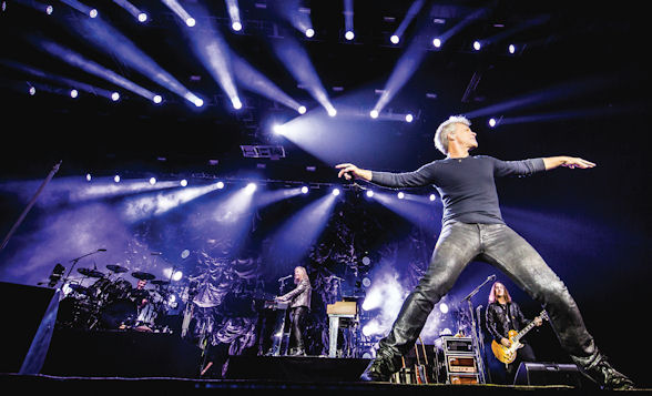 [b]American rock giants Bon Jovi put on two spectacular shows for their Macau fans at Cotai Arena[/b]