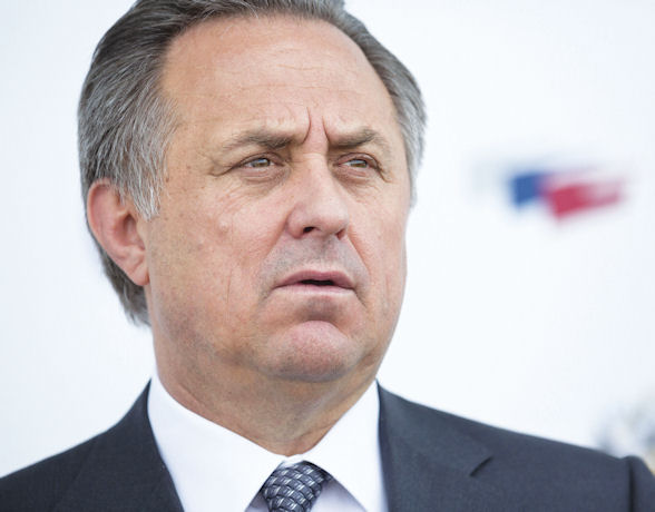 [b]Russia's Sports Minister Vitaly Mutko is under a cloud for his involvement in both Russia's athletics doping scandal and its dubious World Cup bid[/b]