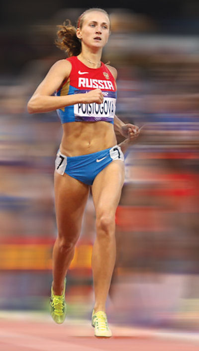 [b]Ekaterina Poistogova won 800 metre bronze in London despite returning suspect samples in the lead-up[/b]