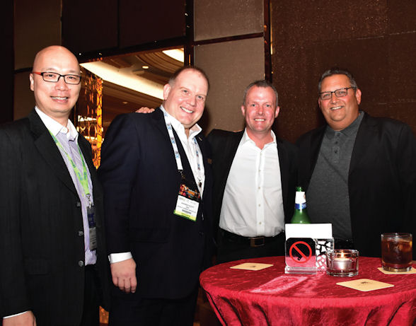 [b]Left to right: WGM's Paul Lee and Andrew W Scott with Richard Thomas and Albert Davia[/b]